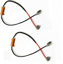 Wire LED Resistor Canceler Error Decoder H3 DRL Light Cornering Flicker Stop