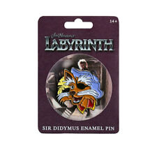 Labyrinth - Sir Didymus Small Enamel Pin NEW