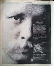 KERRY LIVGREN (Kansas) Seeds.. 1980 US Poster size Press ADVERT 12x10 inches