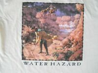 Funny Western Golf T-shirt Men's size XL Cowboy Humor Graphic