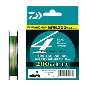 Daiwa UVF Emeraldas Dura Sensor LD Si2 0.4-200 PE Braid