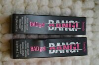 LOT OF 2 BENEFIT BAD GAL BANG BLACK MASCARA  3.0 G/.1 OZ