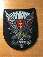 POLAND PATCH POLICE SWAT SRT ANTITERROR UNIT - ORIGINAL!