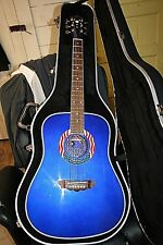 Washburn 2001 9/11 United We Stand Tribute Acoustic Guitar W/ Case