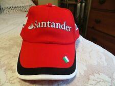 NWOT Men's PUMA Scuderia Ferrari Formula 1 Santander Hat Italian Flag Bill NEW