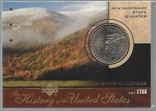 2004 Upper Deck History of the United States Quarters New Hampshire