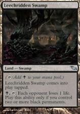 1x Leechridden Swamp NM-Mint, English Shadowmoor MTG Magic