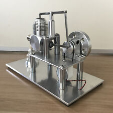 New Hot Air Stirling Engine Model Toy Mini Air-Cooked Engine Generator Motor Toy