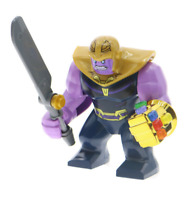 Thanos & Infinity Gauntlet - Marvel Infinity War Lego Moc Minifigures Toys