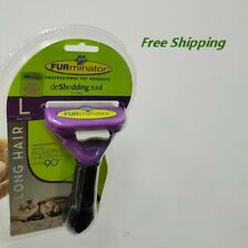 Furminator DeShedding Tool ,for Cats Long Hair Removal Tool - New