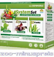 Das DENNERLE Perfect Plant Düngesystem bestehend aus 3 Komponenten Wuchsverstärk