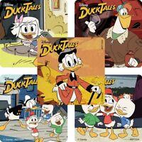 DuckTales Stickers x 5 - Donald, Huey & Dewey, Scrooge McDuck, Donald & McQuack