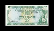 "1971 GOVERNMENT OF FIJI QEII $2 ""Sig. Barrett"" **Consecutive 2 of 2** (( aUNC ))"
