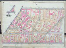 1904 Bushwick, Brooklyn Ny Belcher Hyde Atlas Map Ps 24, Ps 52 27X36