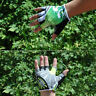 Green Spoondrift Pattern Cycling Bike Bicycle GEL Sports Half Finger Glove M-XL