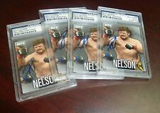Roy Nelson Signed 2012 Topps UFC Knockout Card #69 PSA/DNA COA Auto Big Country