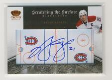 Brian Gionta 10-11 Crown Royale Scratching the Surface Autograph 093/100