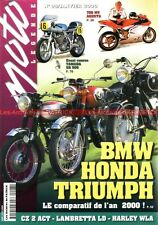 MOTO LEGENDE  98 HONDA CB 450 K3 BMW R69/S TRIUMPH T120 HARLEY DAVIDSON 750 WLA