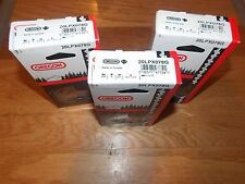 "3  Oregon 20LPX078G  20"" chainsaw chains .325 pitch .050 gauge 78 Drive Links"
