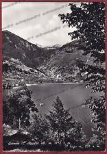 L'AQUILA SCANNO 07 LAGO Cartolina FOTOGRAFICA viaggiata 1956