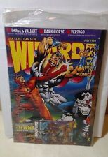 Wizard magazine #23 Factory Sealed With Card Unread New in Plastic