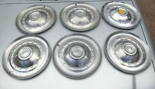 Vintage 1953 Chrysler Windsor Sararoga  Hubcap Set of 6 Very Good Used Condition