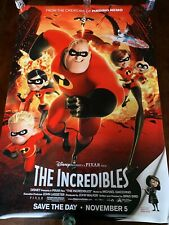 The Incredibles Movie Poster Ds 27x40