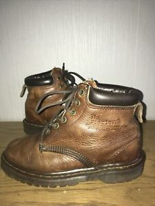 dr martens Boots Size 3 Brown Leather