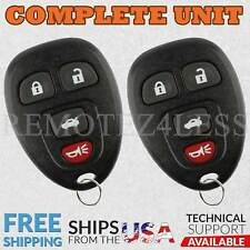 2 For 2005 2006 2007 2008 2009 Buick Allure 4b Keyless Entry Remote Car Key Fob