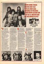 Nazareth UK Interview 1979