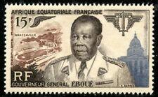 TIMBRE COLONIES FRANCAISES AFRIQUE EQUATORIALE NEUF PA N° 61 ** GENERAL EBOUE