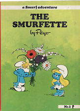 THE SMURFETTE : A SMURF ADVENTURE - DELPORTE & PEYO   FIRST EDITION