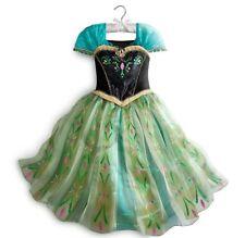 Disney Store Frozen Anna Coronation Dress Costume Princess Fancy Size 5/6 New