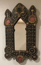 """24"""" Tall Beautiful Marrocan Style Wall hanging Mirror,Pre-owned."""