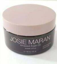 Josie Maran Whipped Argan Oil Body Butter 4 oz- Sweet Citrus Moisturizer Cream