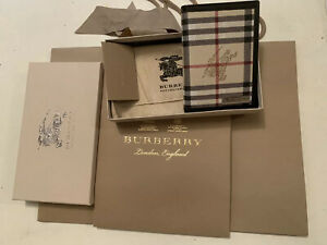 Burberry London Vintage Continental Unisex Wallet /purse.Black BNWT, Gift Pack