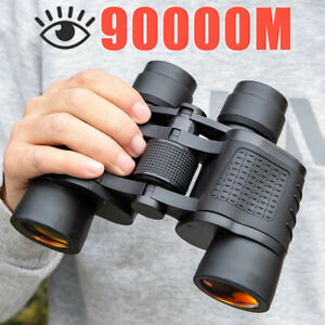 Binoculars 80X80 Long Range 90000m HD High Power Telescope Optical GlassY*AU