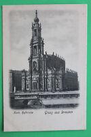 Sachsen AK Gruss aus Dresden 1900 Katholische Hofkirche Architektur Kunst Straße