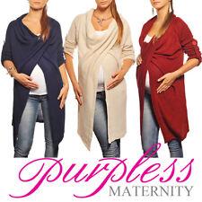 Purpless Maternity Pregnancy Cardigan Sweater Jumper Pullover Coat Wear 9001/5