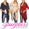 Purpless Maternity Pregnancy Cardigan Sweater Jumper Pullover Coat Wear 9001/5