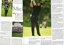 SP98 Clipping-Ritaglio 2007 Phil Mickelson Intervista Augusta National