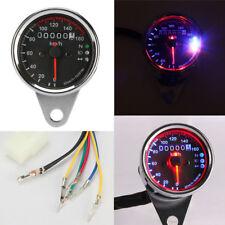 Universal Motorcycle Odometer Speedometer Gauge for Harley Bobber Chopper Cafe