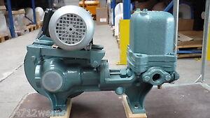 Kolbenpumpe WZ 2000 6 bar mit Motor 410 Volt Pumpe für Hauswasserversorgung Neu