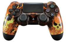 """""""Fire Skulls"""" PS4 PRO 40 MODS Modded Controller for COD WW2 Destiny 2 Games"""