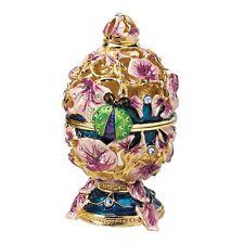 Fabergé Ladybug Enameled Egg Replica