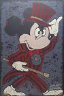 Mickey Mouse meets Alice Cooper POP Fan Art AJ Woods Speed Painter super sweet