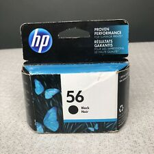 HP 56 Black Original Ink Cartridge Deskjet Photo Smart Expired 09/2019