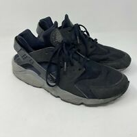 NIKE air Huarache Mens Running Trainers 318429 Sneakers sz 13 Black