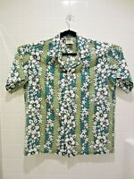 Vintage Winnie Fashion Mens Hawaiian Shirt Floral Print Size XL