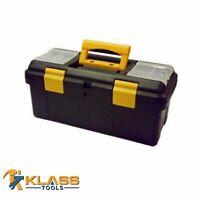 "19"" Heavy Duty Plastic Tool Box"